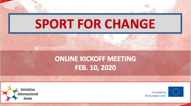 Online kick-off meeting